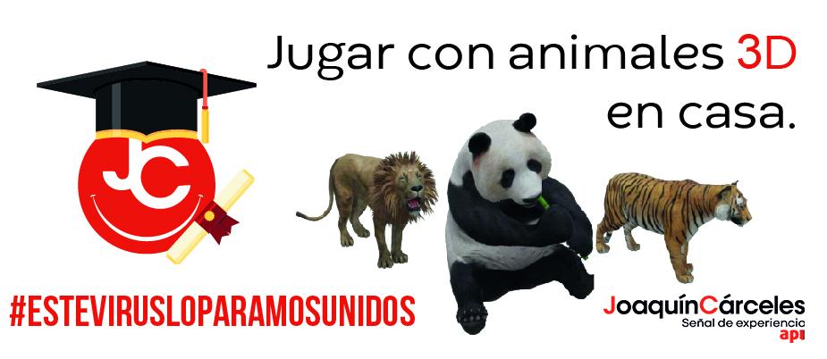 Animales 3D en casa