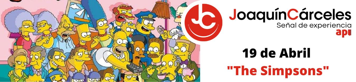 The Simpsons – Equipo Joaquín Cárceles Inmobiliaria